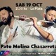 Pato Molina Chazarreta, presenta su nuevo espectáculo en la ciudad