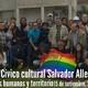Sabado 15 Setiembre- Bienvenida y Saludos-Desembarco Centro Salvador Allende- Barros Blancos