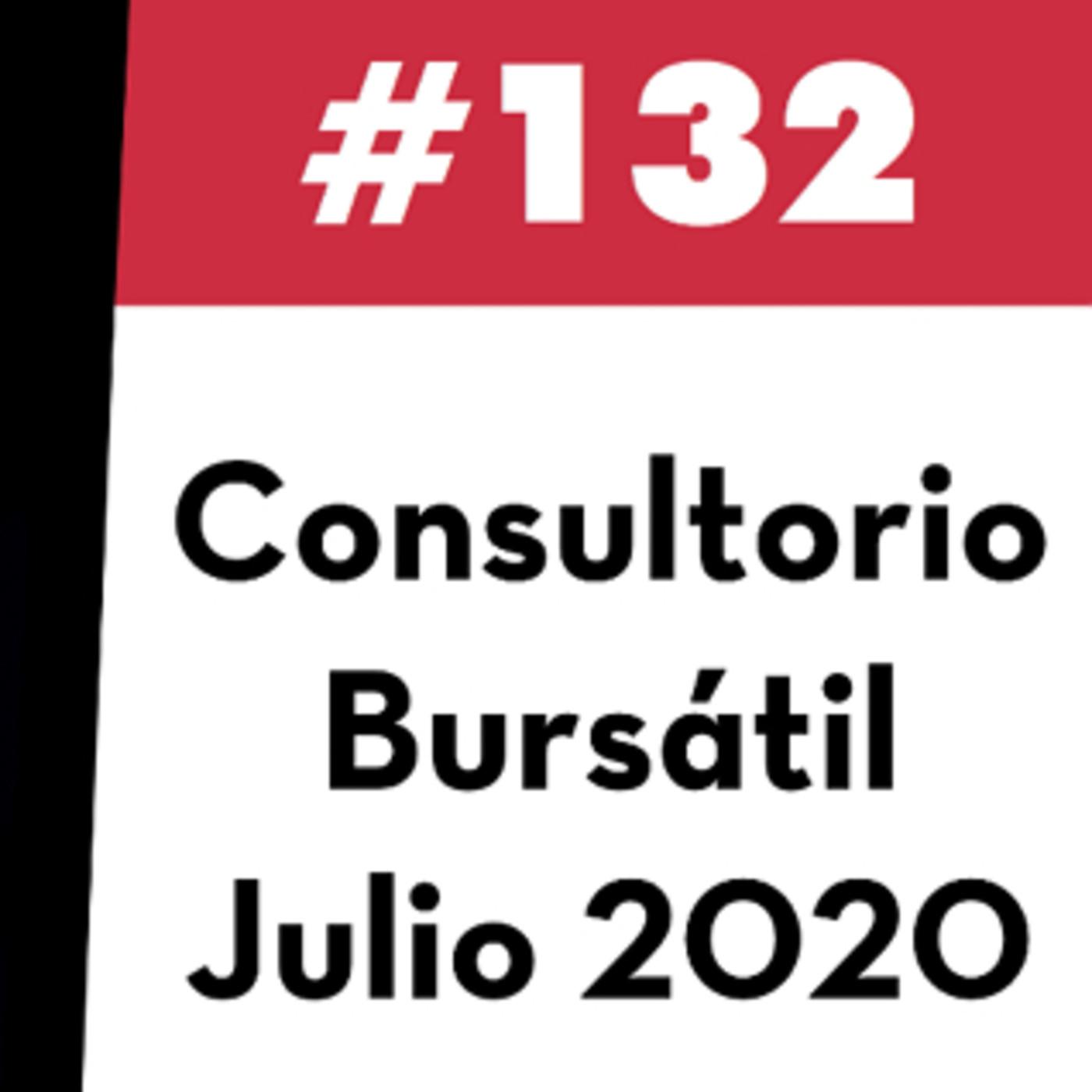 132. Consultorio Bursátil - Julio 2020