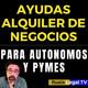 Ayudas Autonomos y Pymes para alquiler | Moratoria Alquiler de oficinas y locales de negocio (2020)