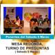 ALIMENTACIÓN VIVA Y CONSCIENTE - Mesa redonda y Turno de Preguntas ( Sábado 5 Marzo 2016 )