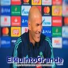 Rueda de Prensa Zinedine Zidane previa al PSG - Real Madrid ( UCL - T19/20 )
