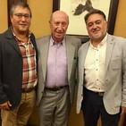José Miguel Giráldez entrevista a Peridis en la Cámara de Comercio y Radio Obradoiro