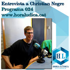 L'entrevista 024: Christian Negre