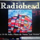 P.667 - Radiohead - Plaza de Toros Las Ventas (Madrid) 16/07/2003