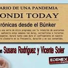 """TONDI TODAY: Diario de una pandemia. 27 """"El negocio de la muerte: Con Vicente Soler y Susana Rodríguez""""."""