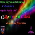 El Aquelarre del Rock#86 4º aniversario, Final temporada, Especial Orgullo LGBT