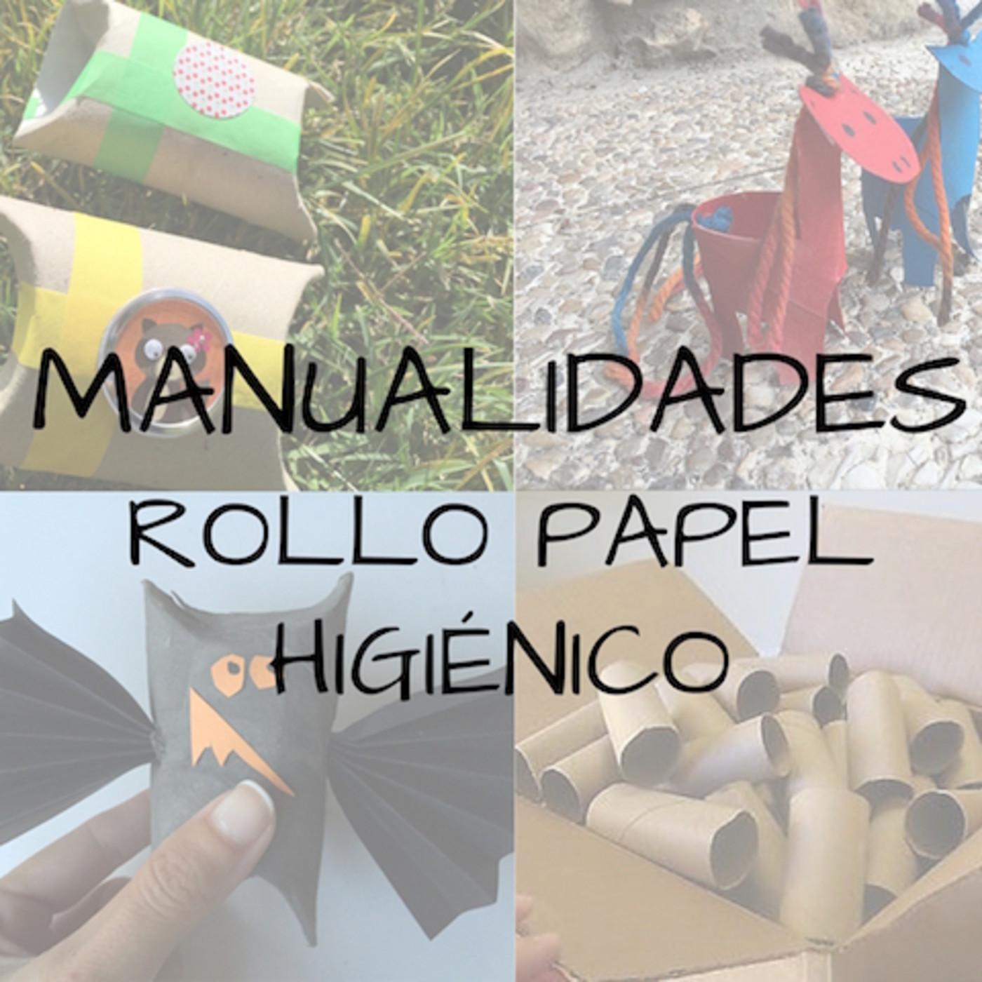 3 Manualidades Rollos Papel Higienico En Podcast Clarimanitas - Manualidades-con-rollos-papel-higienico