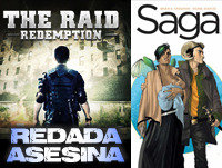 LODE 4X26 The Raid: Redemption REDADA ASESINA, SAGA el cómic