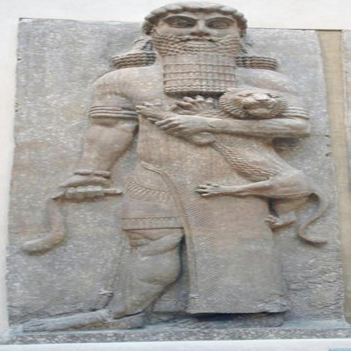 hear the epic of gilgamesh read in the original akkadian - HD1400×1400