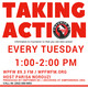 Taking Action - Tuesday, May 21, 2019
