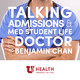 Episode 122 – Kyle, fourth year medical student at University of Utah School of Medicine