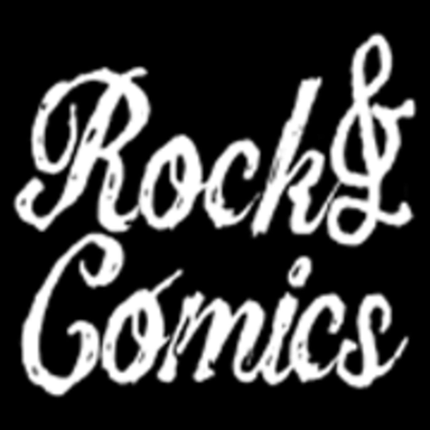 Rock & Cómics 183 - Cuttlas, Battaglia, Tibirís, Doctora Mirage, Wicked and the Divine, Wonder Woman, Ran y el mundo gri