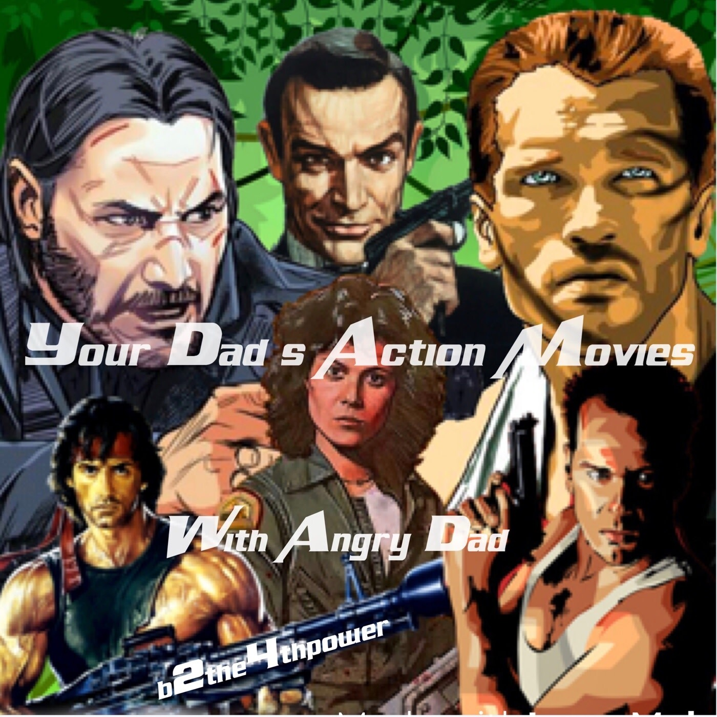 Your Dad's Action Movies Episode 5 Sylvester Stallone in Rambo Last Blood