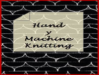 Hand y Machine Knitting - Episode 45