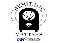 Heritage Matters - 10-12-2018 - Dr Jane McCabe, Kurow's Three Wise Men and Dunedin's Early Department Stores
