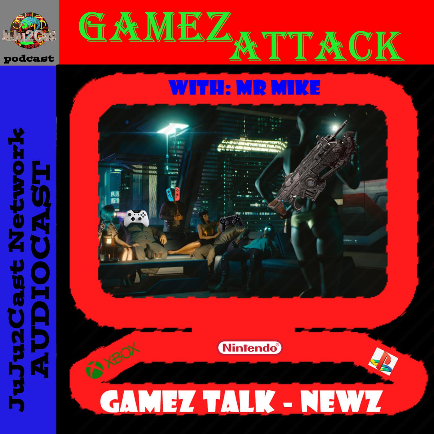 GamezAttack AudioCast #388 What Games?