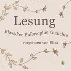Lesung - Klassiker, Philosophie, Gedichte von Goet