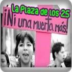 Argentina:La Plaza de los 25 Contra la violencia d