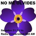 Podcast Radio NO ME OLVIDES