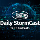 ISC StormCast for Wednesday, December 30th 2015