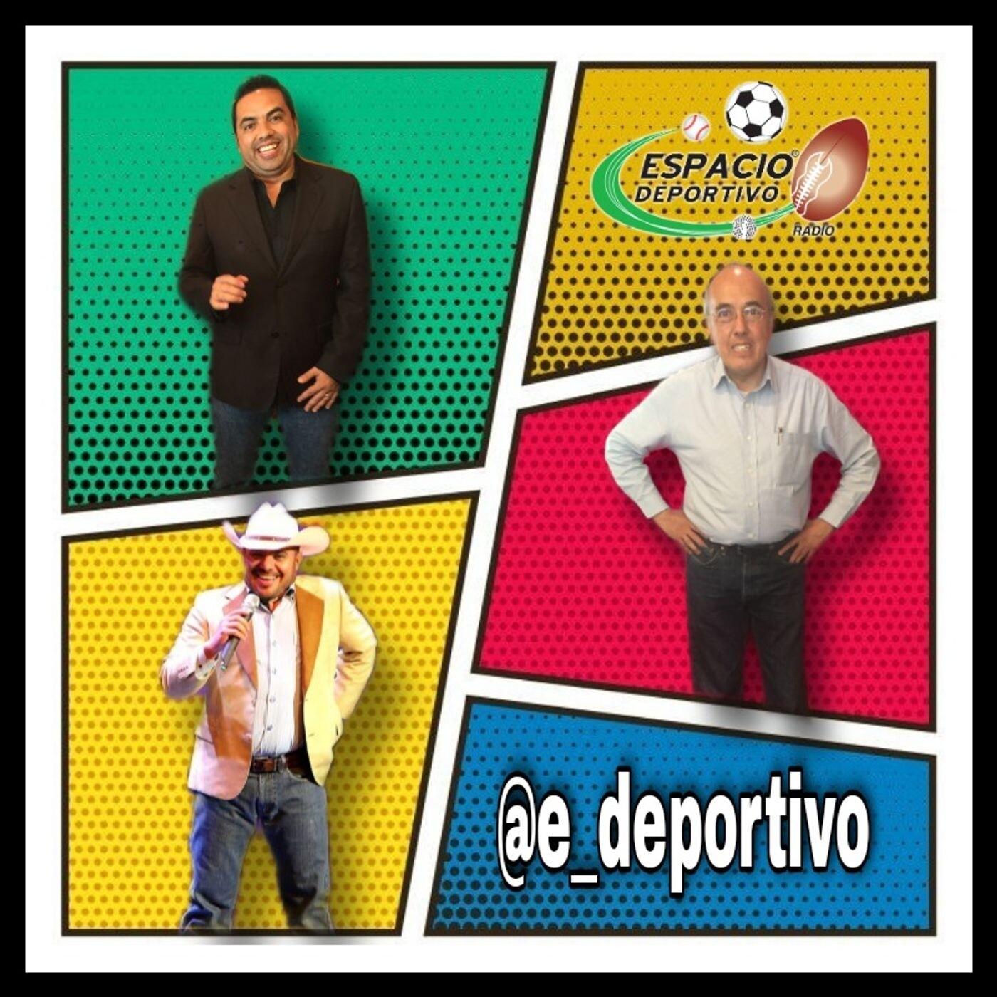El trio de paqueteados prófugos de las pandemias en Espacio Deportivo de la Tarde 19 de Octubre 2020