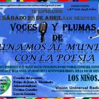 VOCES Y PLUMAS DE UNAMOS AL MUNDO CON LA POESÍA