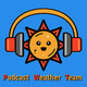Sun, 19 May: Partly sunny, with Hazards – H: 76°, L: 54°
