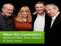 Michael Palin, Terry Jones, Terry Gilliam and Special Guest Carol Cleveland: Meet the Comedians