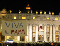 Long Live Pope Francis -6- with Sarah - on Papa Francesco's 77th birthday - Totus2us