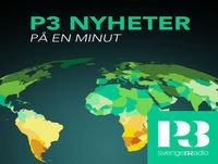 P3 Nyheter på en minut 22 januari 06.30