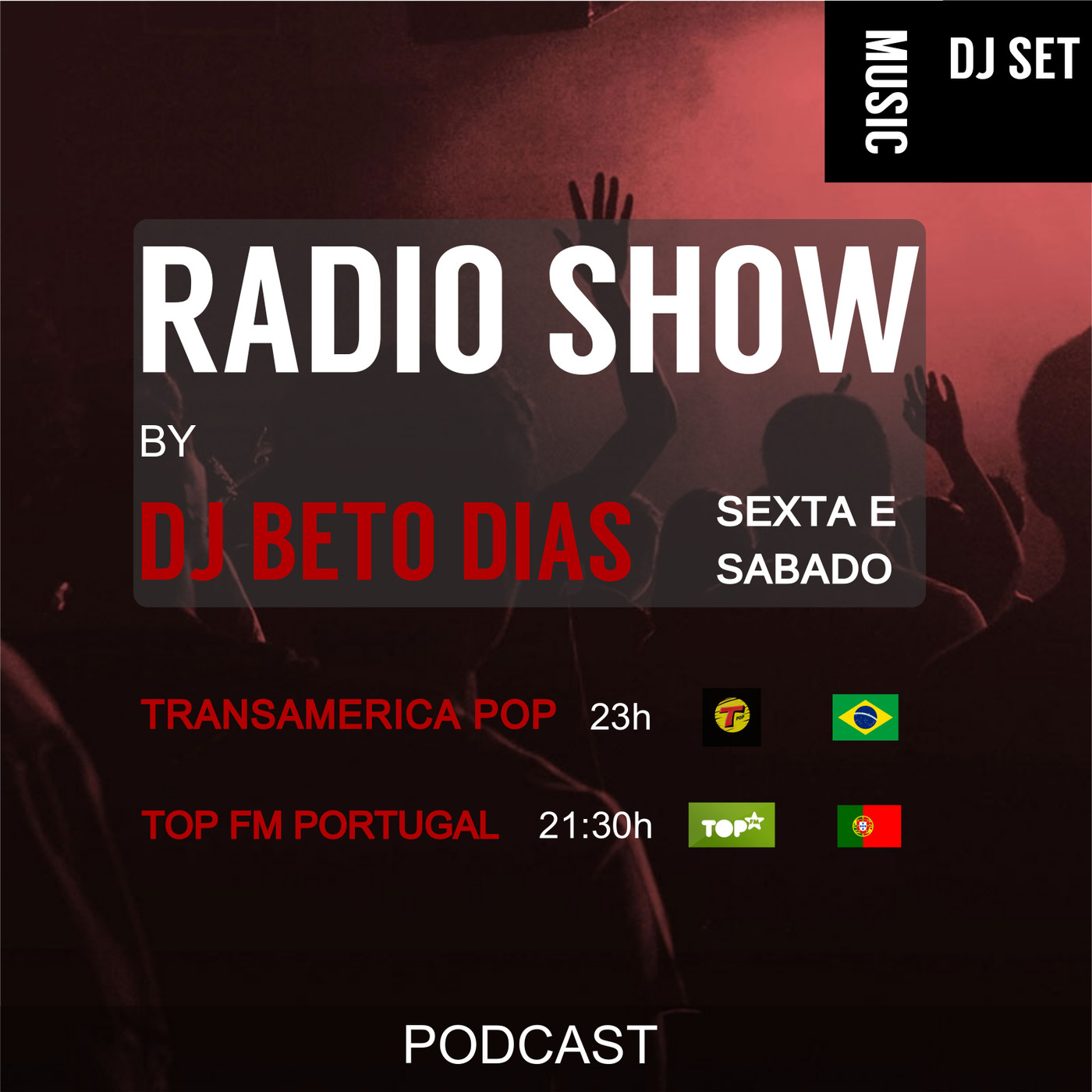 RADIO SHOW by DJ BETO DIAS 22-06 (PODCAST)