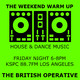 The Weekend Warm Up on 88.7FM Los Angeles – 23 Aug 2019