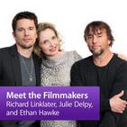 Richard Linklater, Julie Delpy, and Ethan Hawke: M