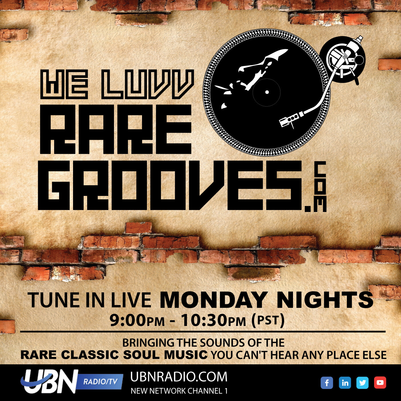 We Luv Rare Grooves - October 28, 2019