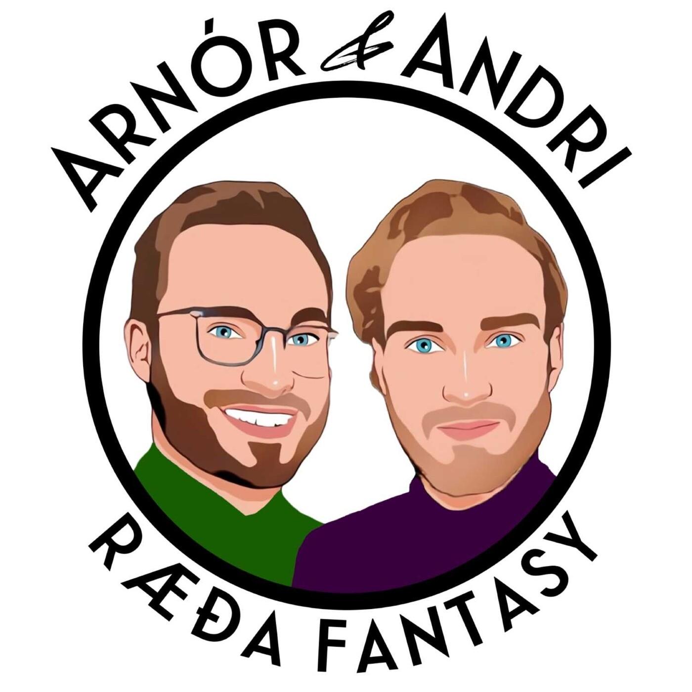 10. Arnór & Andri Ræða Fantasy - Wildcardið virkaði! | Nýr liður: Viðtal vikunnar | Werner vaknaður | Li...