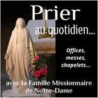 Le chapelet et les vêpres du dimanche 24 mars 2019.