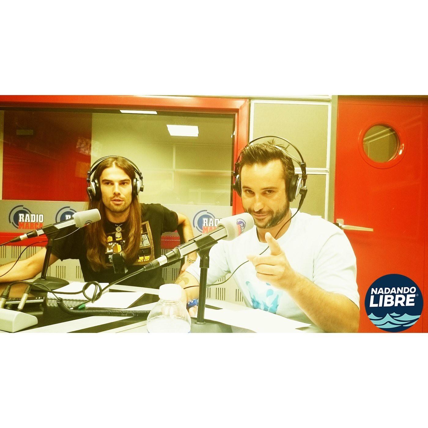 Nadando Libre en radio Marca