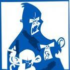 Monos con pistolas