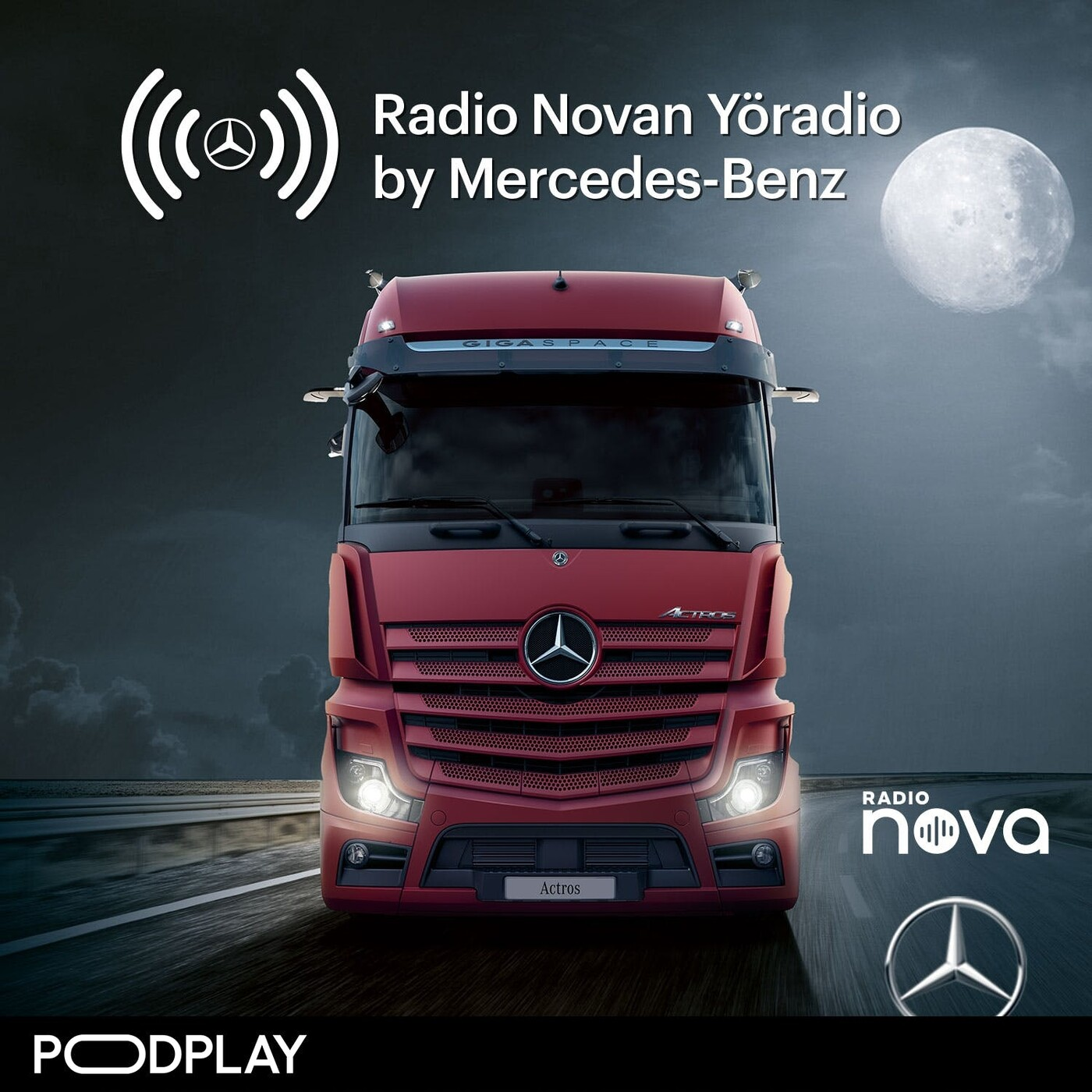 Radio Novan Yöradio by Mercedes Benz – NOLLAILTA, torstaina 24.9.