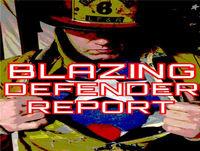 The Blazing Defender Comic Book Report #95