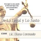 De Lo Legal y Lo Justo