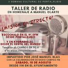 Taller de Radio en Portalrubio (10/08/19)