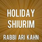 Rabbi Ari Kahn - Holiday Shiurim
