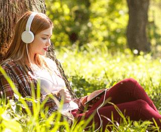Escucha mientras te relajas