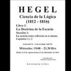 Hegel. La Ciencia de la Lógica. Carlos Pérez Soto