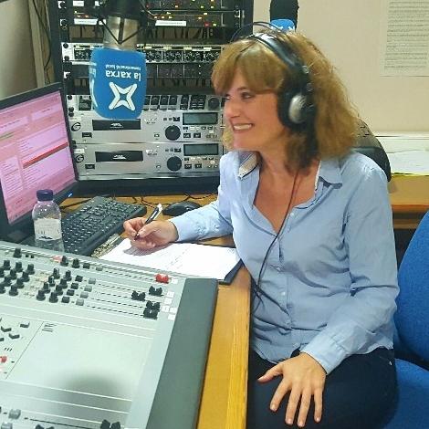 Laura del Aguila. Radio Celrà
