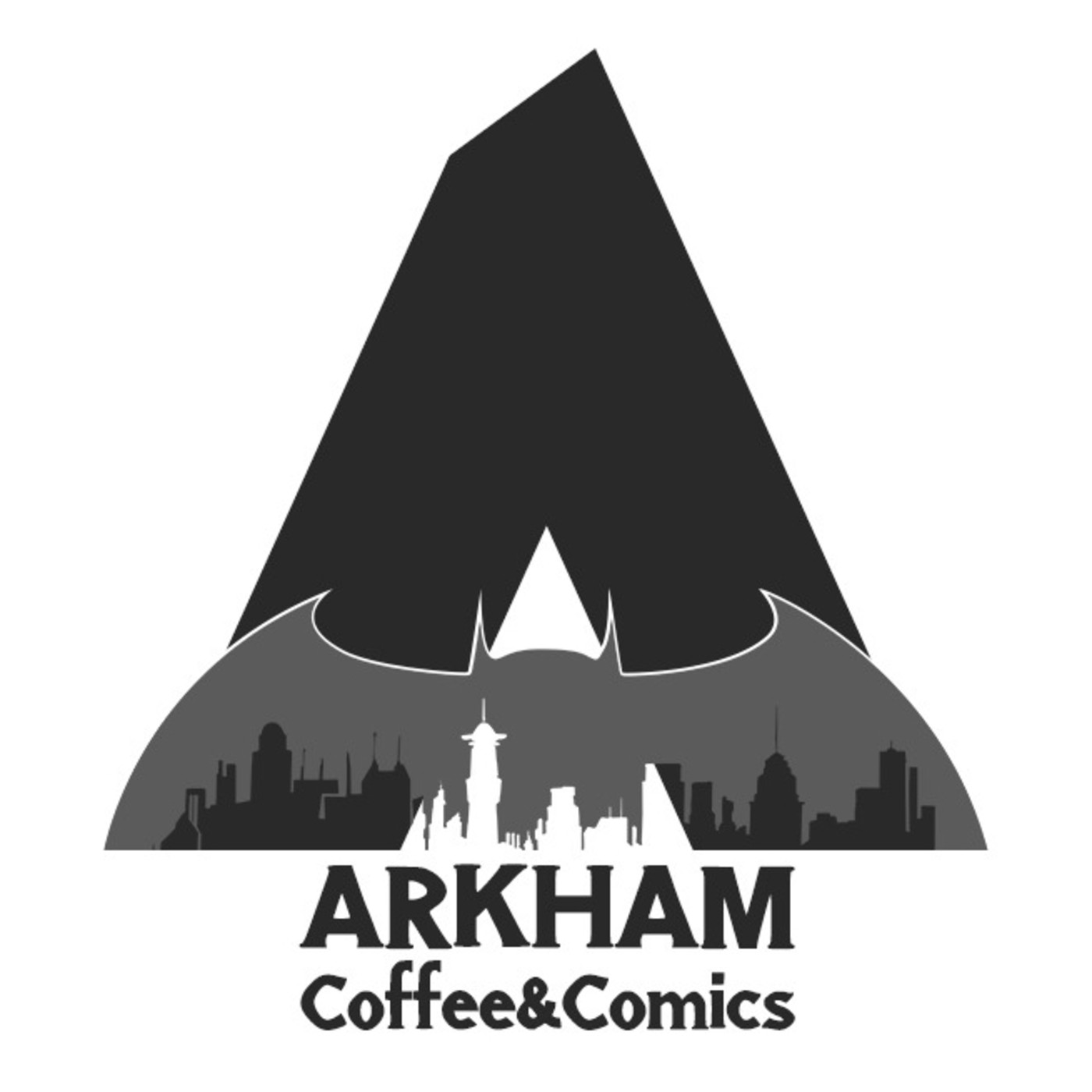 Arkham coffee and comics