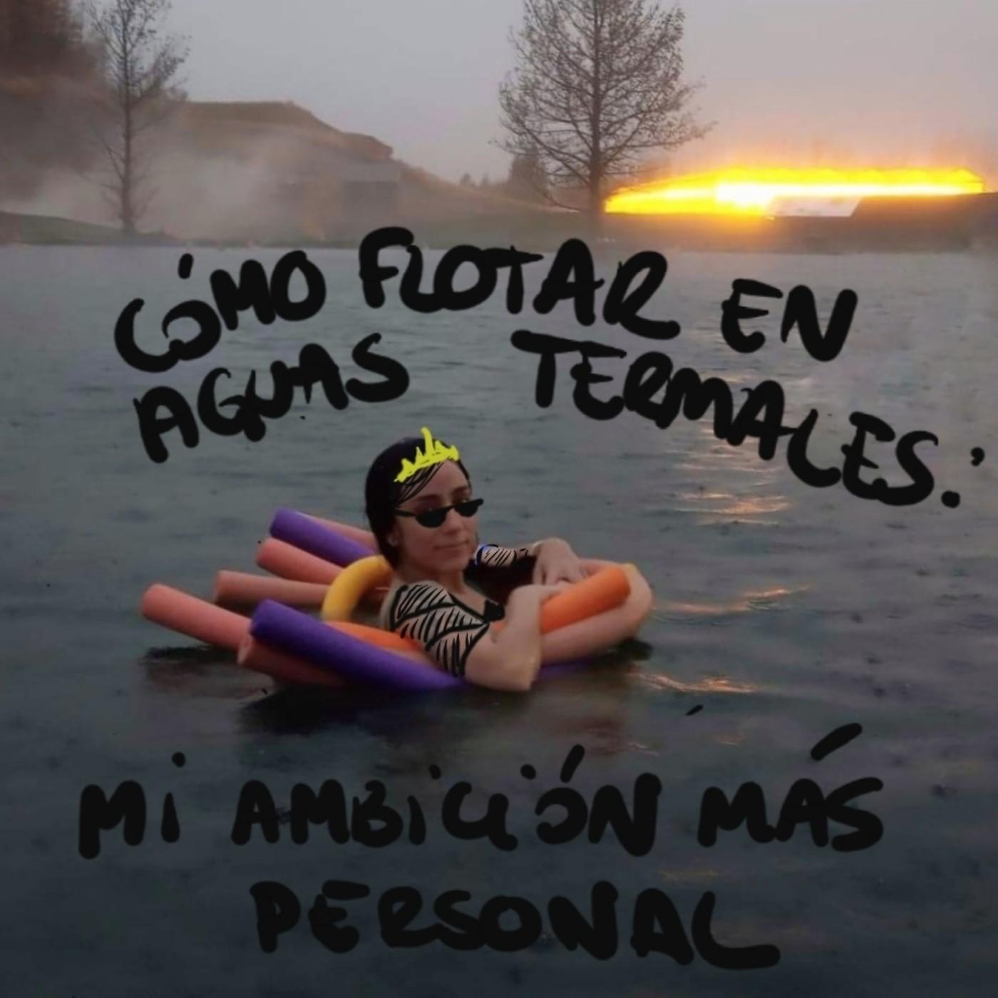 Cómo Flotar en Aguas Termales: